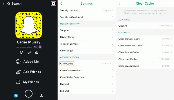 Fix Snapchat Stuck on Sending