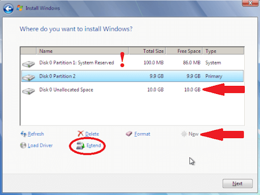 Merge Two Hard Drives Partition in Windows 10