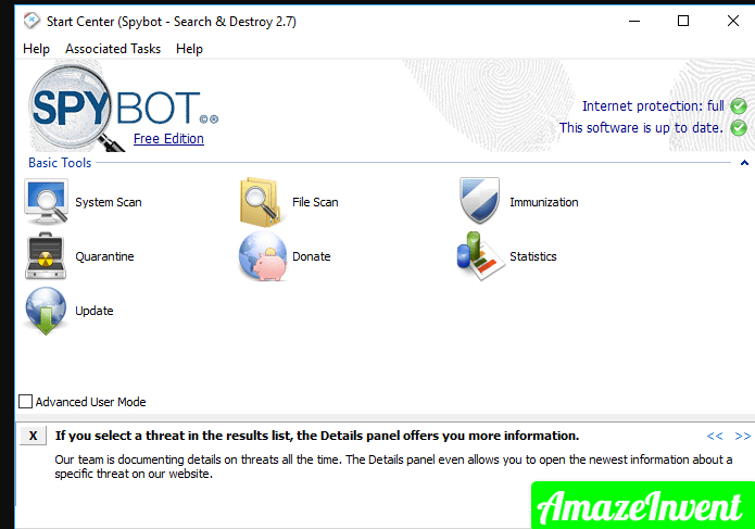 Stop Spybot From Opening Automatically