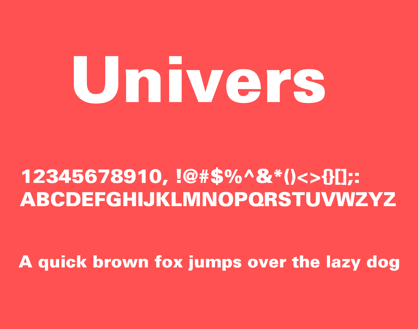 Alternative Typefaces to Helvetica