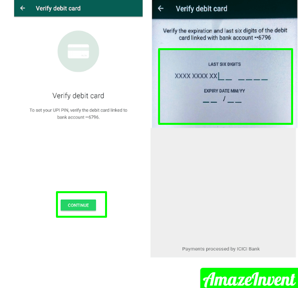 Send and Receive Money Using WhatsApp