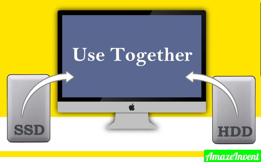 Use SSD and HDD together