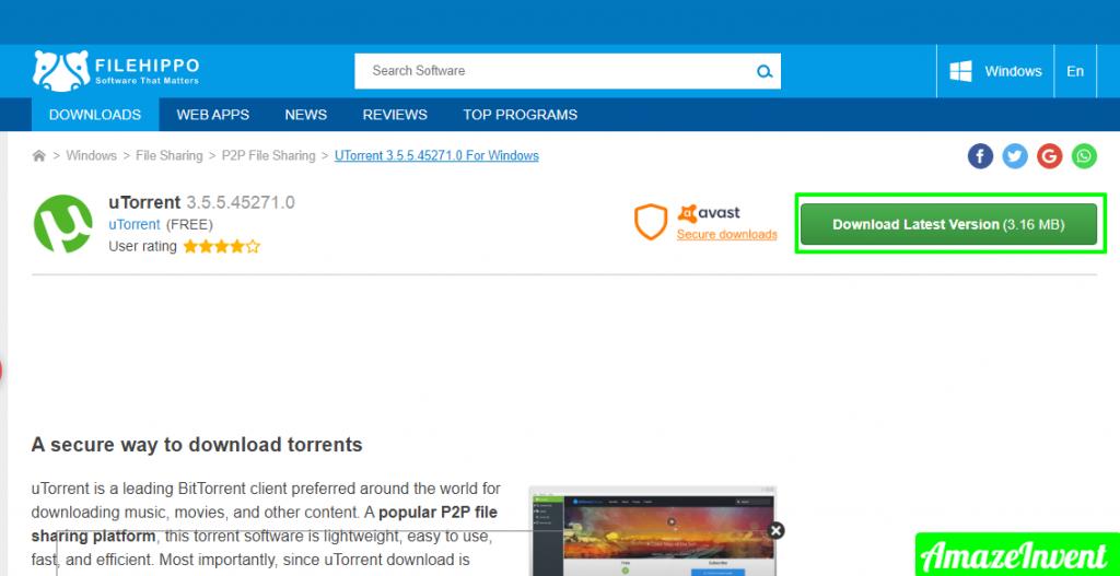 uTorrent To Download Movies