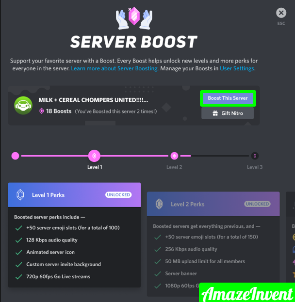 serverboost1 png 1085×1125  - How to Cancel Discord Nitro? [ Mobile, PC, Mac]