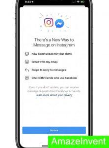 Instagram DM-Facebook Messenger