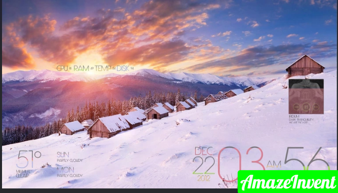Rainmeter Skins For Desktop Customization