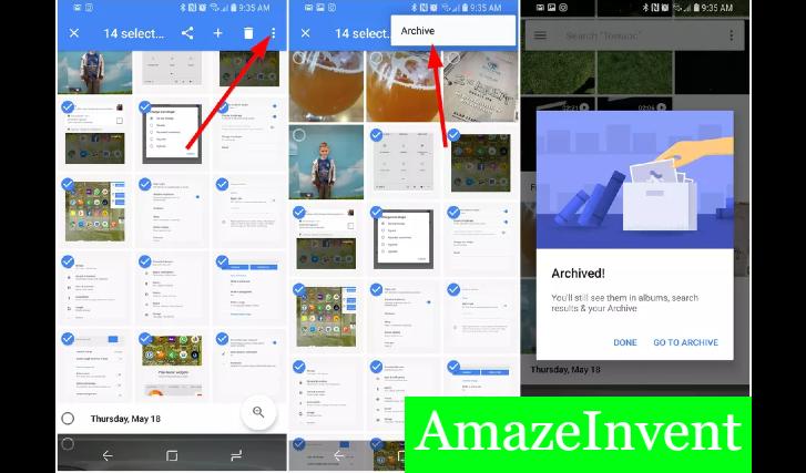 Private Album and Google Photos