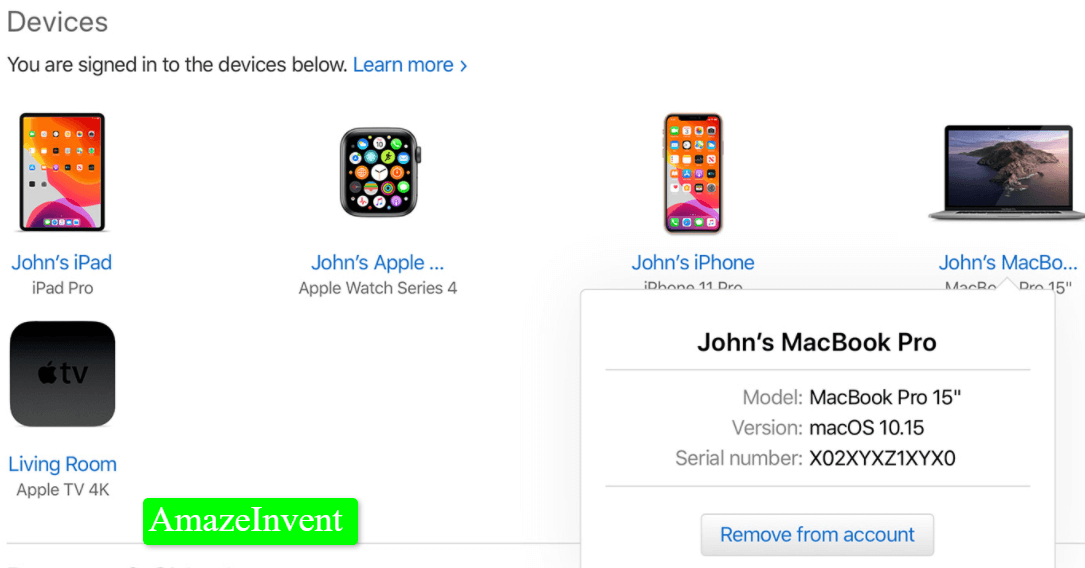 Remove A Device From iCloud
