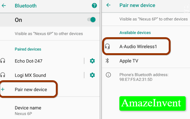 connect Bluetooth to another phone