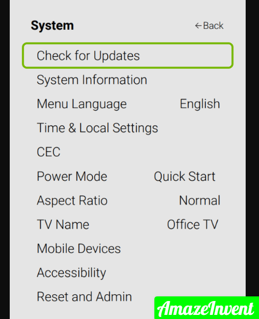 cd1fee603af211eabc0989d3aecdc7ae png 583×800  - How To Update Apps on a Vizio TV? ( Hulu, Amazon Prime )