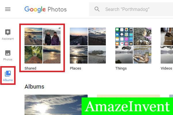 Shared Album Google Photos