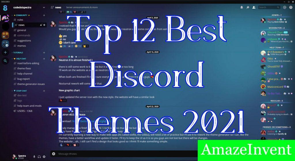 Best Discord Themes