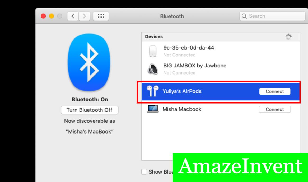 Bluetooth Headphones Mac