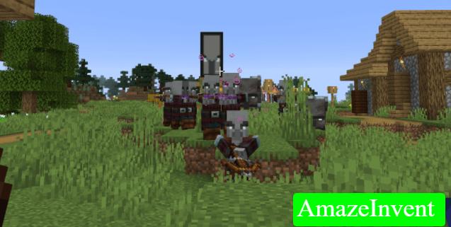 Stop A Raid In Minecraft