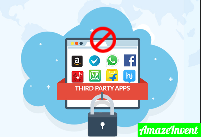 Through Third-party apps