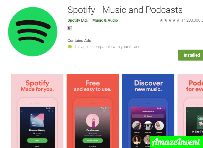 You may also change your Spotify password from here if desired.