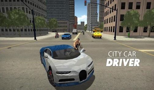 City car driving City