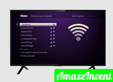 connect Roku to Wi-Fi without remote