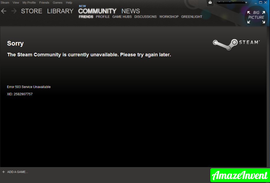 Steam Store Not Loading