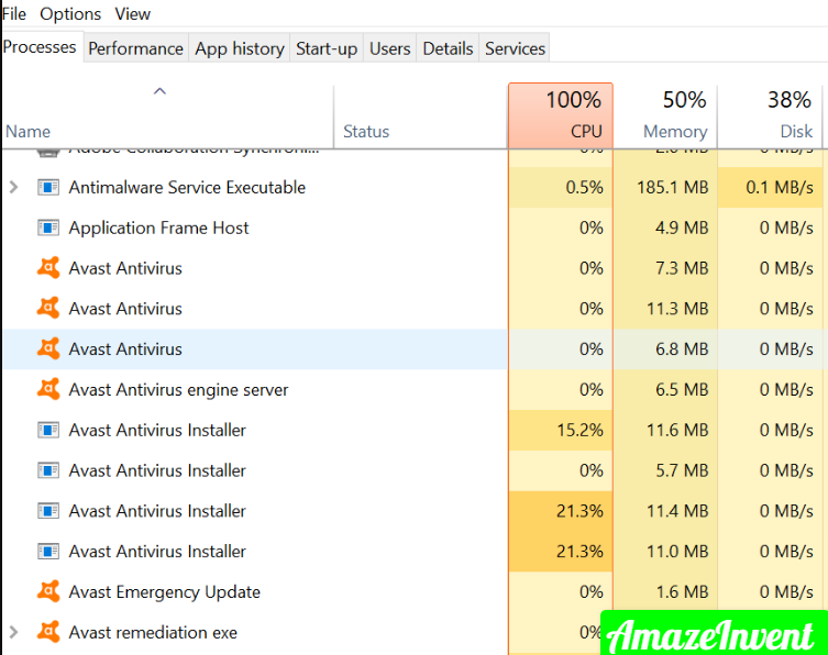Stop Avast Browser Opening on Start-Up