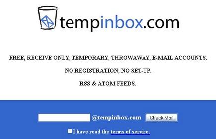 Tempinbox