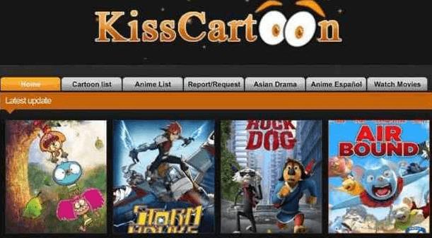 kisscartoon - 8 Best Websites To Watch Cartoons Online 2021