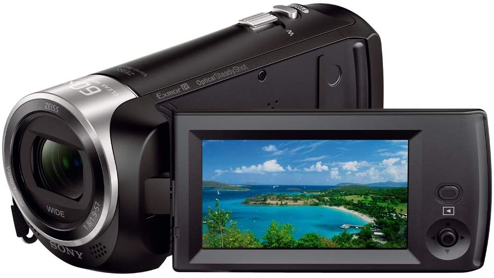 Sony HDRCX405 - 10 Best Camcorder for Sports 2021 You Should Know