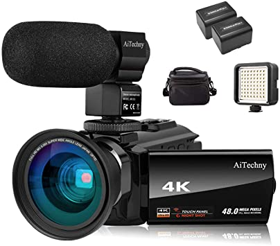 aitechny - 10 Best Camcorder for Sports 2021 You Should Know