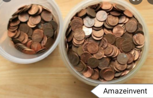Use the Coin Star: