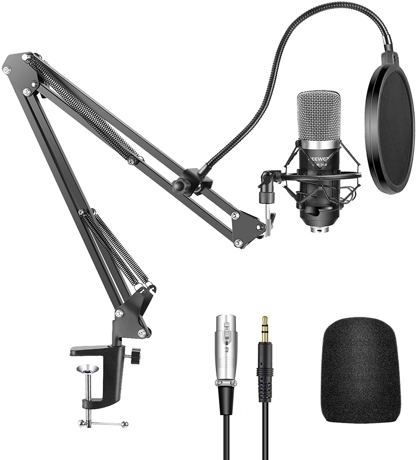 neewer NW 700 - 9 Best Cheap Mic for Gaming 2021