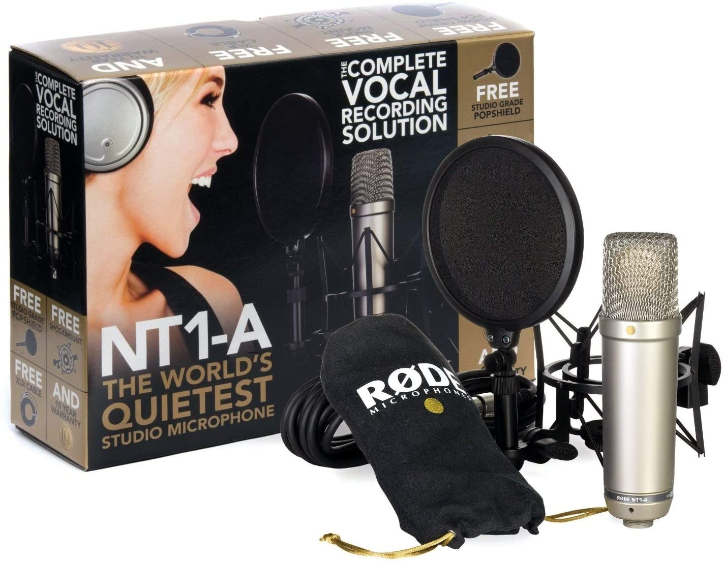 rode nt1 a bundle - 9 Best Cheap Mic for Gaming 2021
