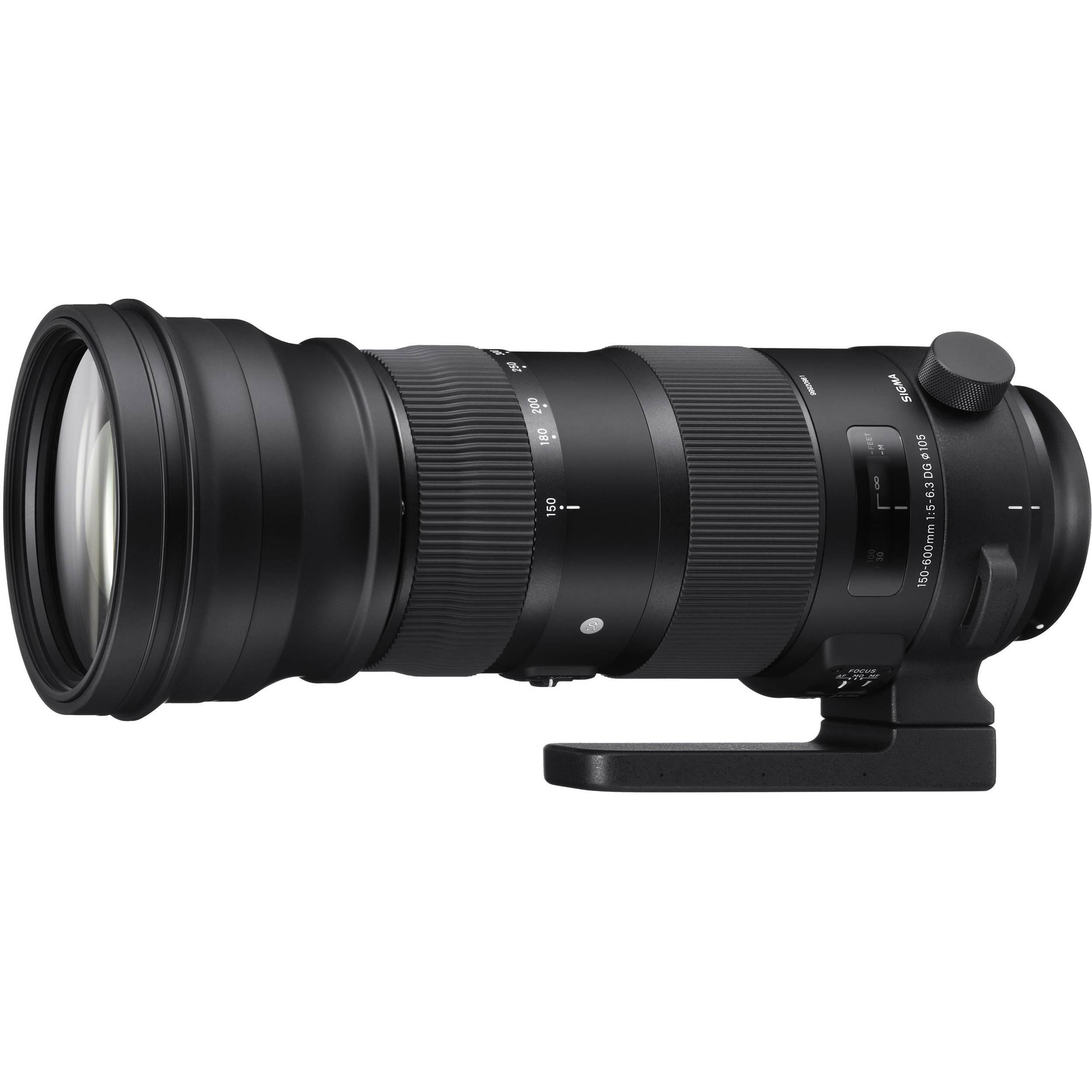 Sigma 150-600mm f/5-6.3 DG OS HSM | S